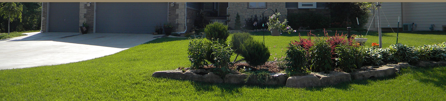 Landscape Design - Affordable Sprinklers - Wichita, Kansas