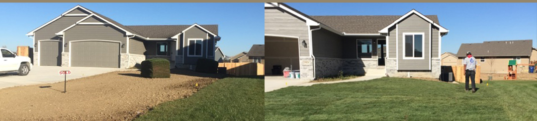 Sod and Seed Yard Installations - Affordable Sprinklers - Wichita, Kansas