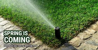 Spring is Coming-Sprinkler Spring Start-Ups-Affordable Sprinklers-Wichita,KS
